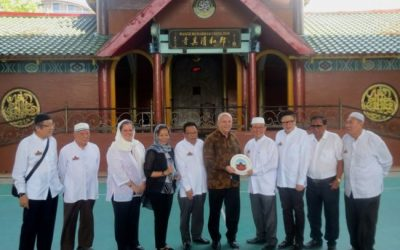 Dubes Amerika di Masjid Cheng Hoo