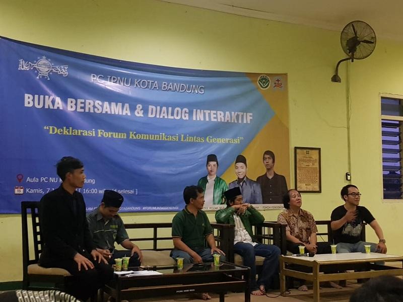 Buka Bersama IPNU Bandung dan Pemuda GKI Guntur