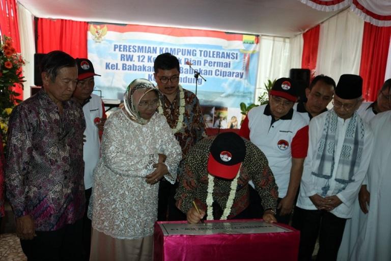 Lagi Kampung Toleransi di Bandung