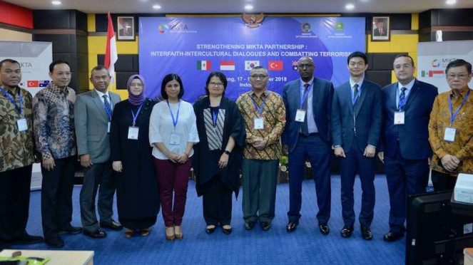 MIKTA Wujud Komitmen Indonesia untuk Perdamaian Dunia