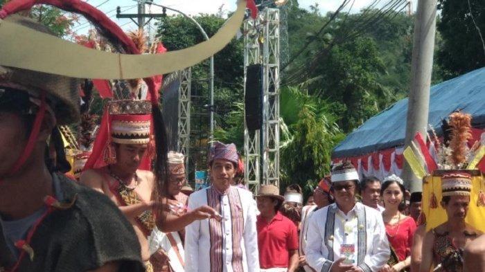 Presiden di Natal Tana Toraja