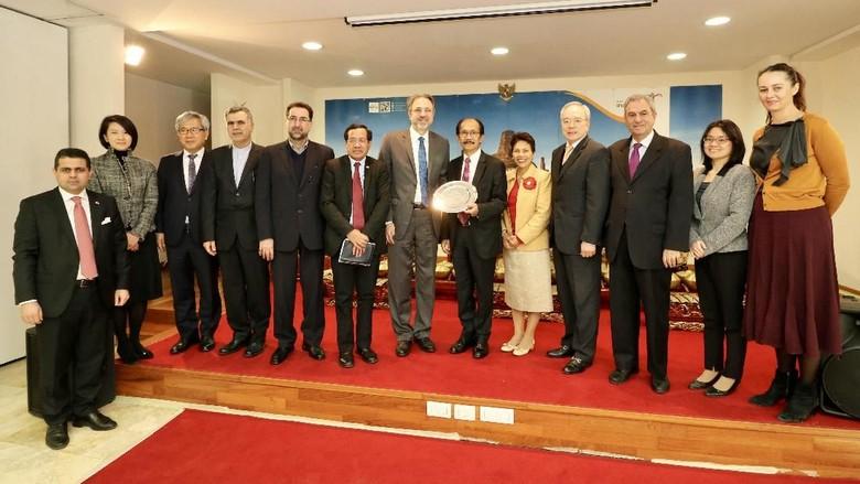 Dubes Asia Tindaklanjuti Deklarasi Abu Dhabi