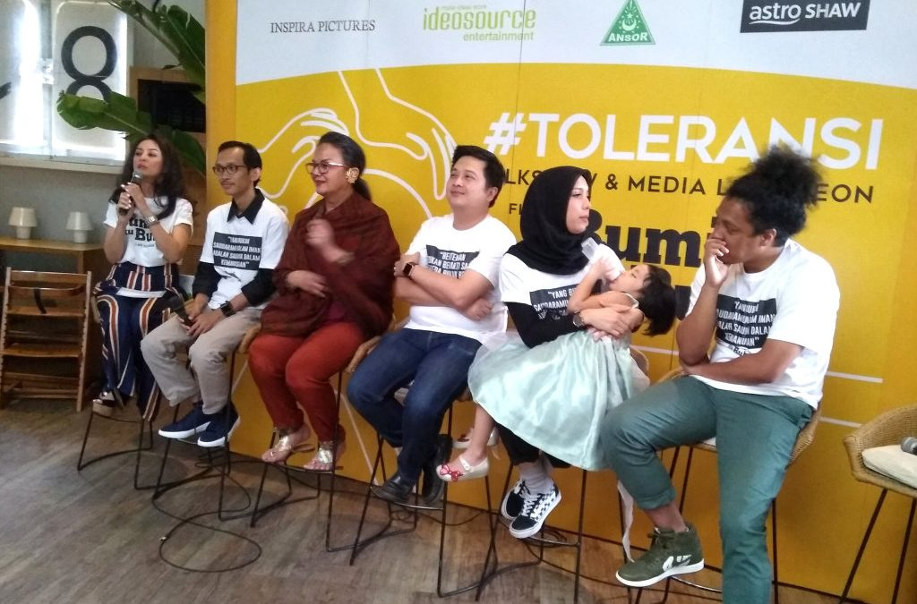 GP Ansor Buat Film Toleransi