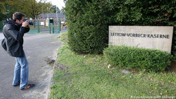 Asrama militer Lettow-Vorbeck dekat Hamburg