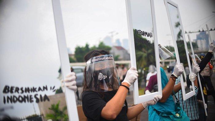 Ratusan Pendeta Dukung Demo Tolak Omnibus Law & Sahkan RUU PKS