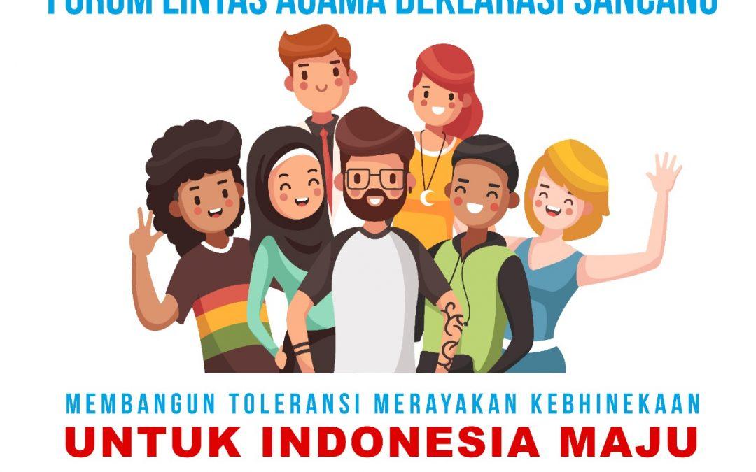 Membangun Toleransi Merayakan Kebhinekaan untuk Indonesia Maju