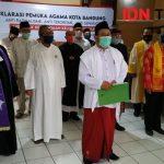 Forum Pemuka Agama Tolak Keberadaan Kelompok Intoleran di Kota Bandung