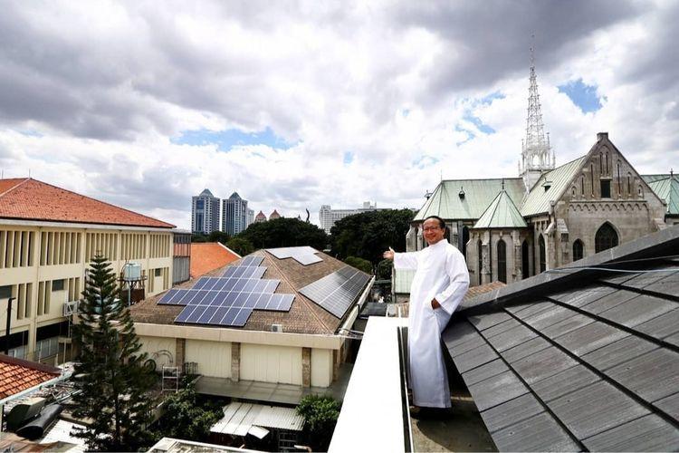 Rekor Muri: Katedral Jakarta, Gereja Katolik Pertama yang Seluruh Sumber Listriknya dari Energi Surya