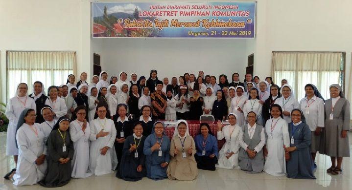 Gaya Hidup Sehat Biarawati