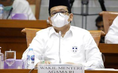 Wakil Menteri Agama Sebut Tidak Mudik Lebaran Sama dengan Berjihad