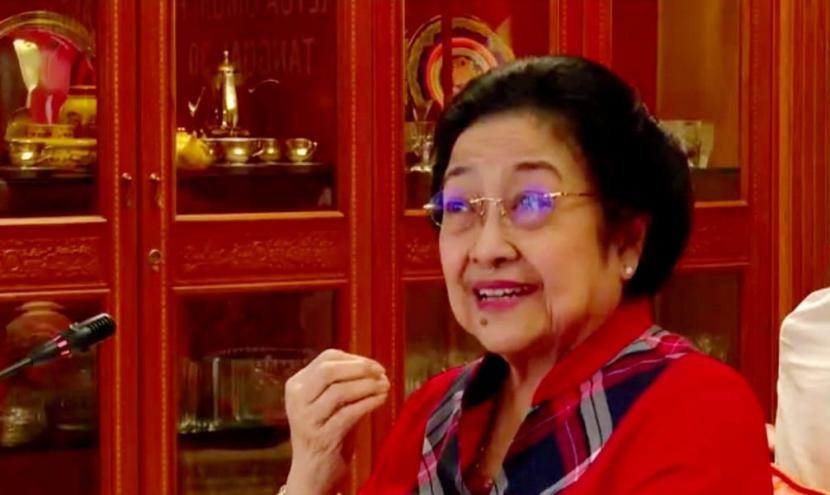 Megawati Heran dengan Orang tak Suka Pancasila