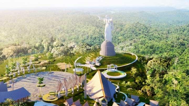 Sebentar Lagi Indonesia Punya Patung Yesus Tertinggi di Dunia