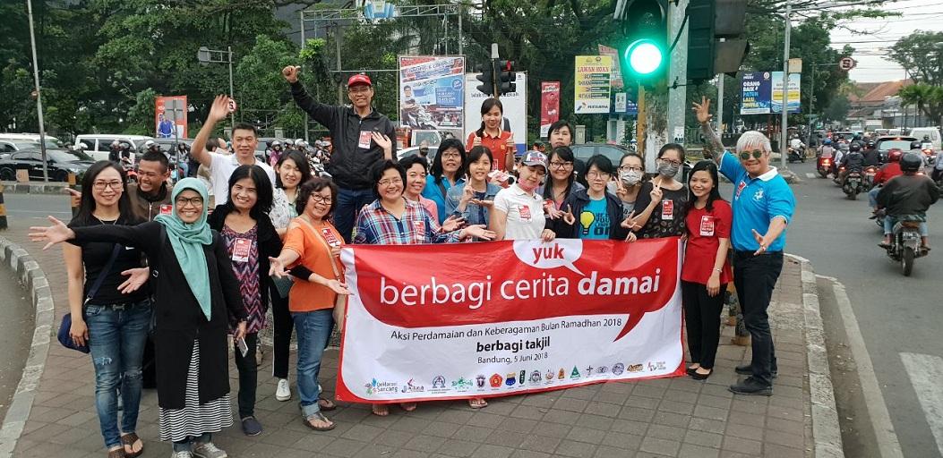 Bandung Berbagi Cerita Damai