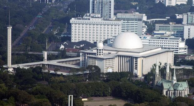 Terowongan Silaturahmi Hubungkan Masjid Istiqlal dan Gereja Katedral